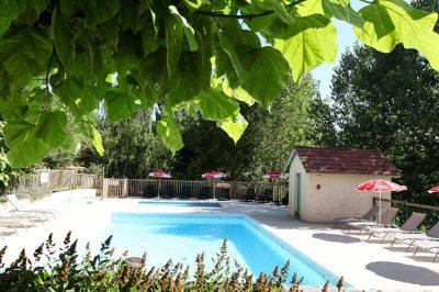 piscine chauffée camping l offrerie dordogne