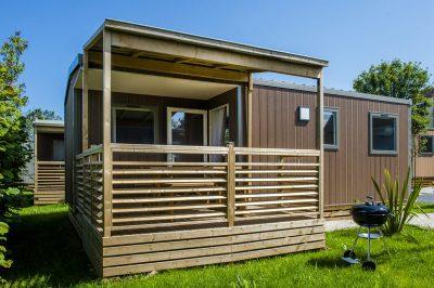 mobil-home camping normandie 5 étoiles La capricieuse